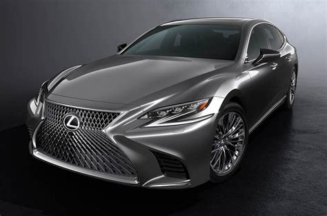 Novo Lexus Ls Troca V8 Por V6 Turbo De 415 Cv
