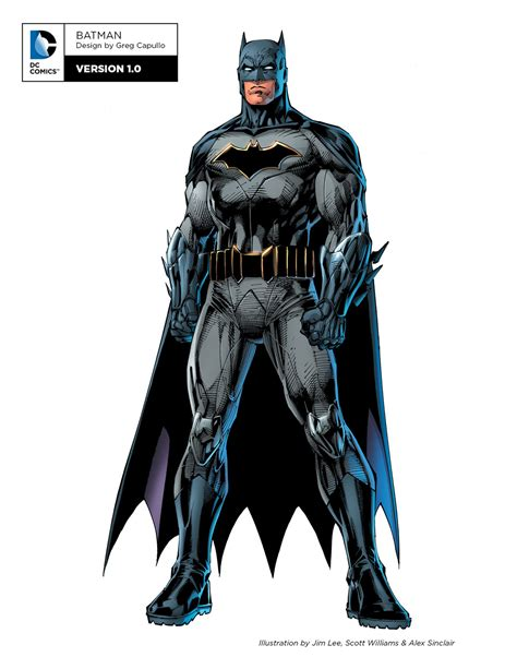 Dc Unleashes New Rebirth Character Designs For Batman