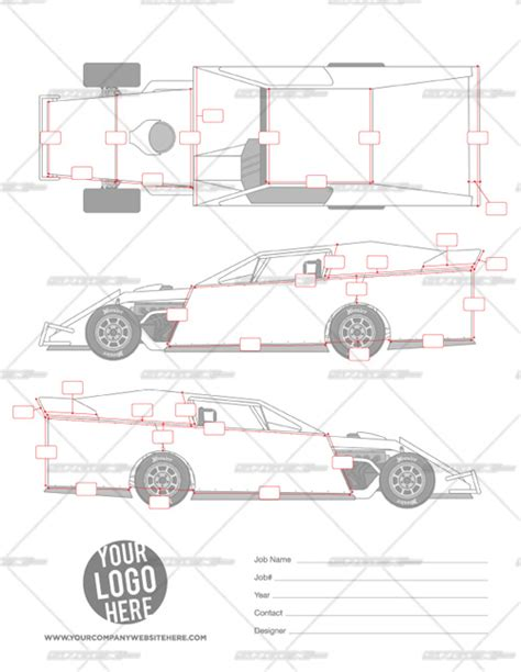 Dirt Template 2014 Dynamic Dirt Modified Template School Of Racing
