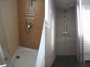 eclairage led douche guirlandes lumineuses cm tubes leds With carrelage adhesif salle de bain avec kit spot led encastrable dimmable