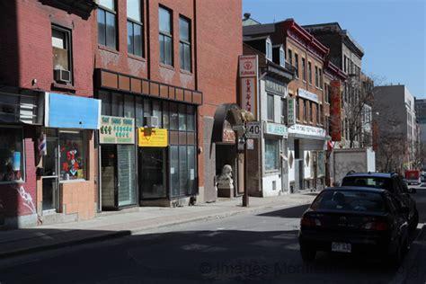 le quartier chinois à rue clark dans le quartier chinois montréal
