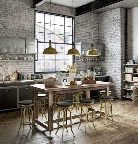 cuisine industrielle 24 best loft en 3d images on industrial loft
