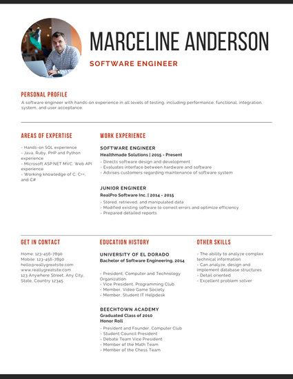 Professional Resume Software Free by Customize 67 Professional Resume Templates Canva