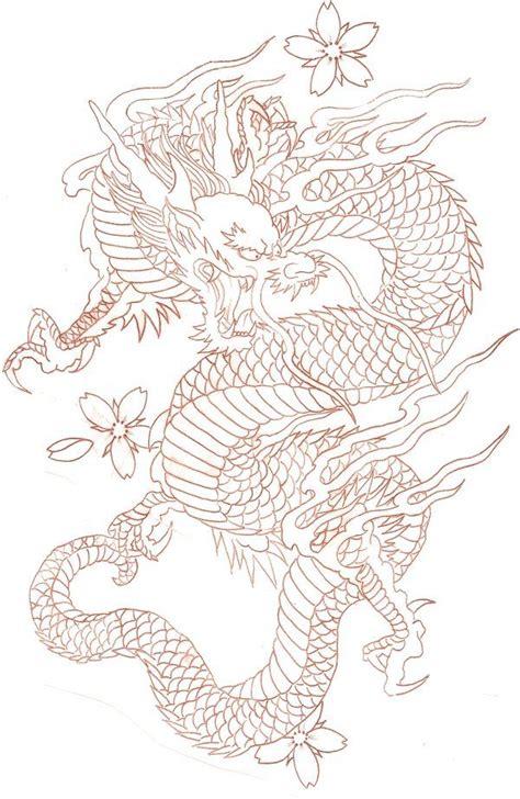 Dessin Dragon Tatouage