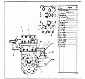 3p2807 Transmission Hydraulic Control Group
