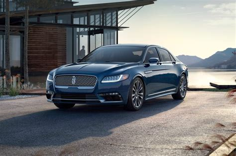2017 Lincoln Continental Length by 2017 Lincoln Continental Sedan Pricing For Sale Edmunds
