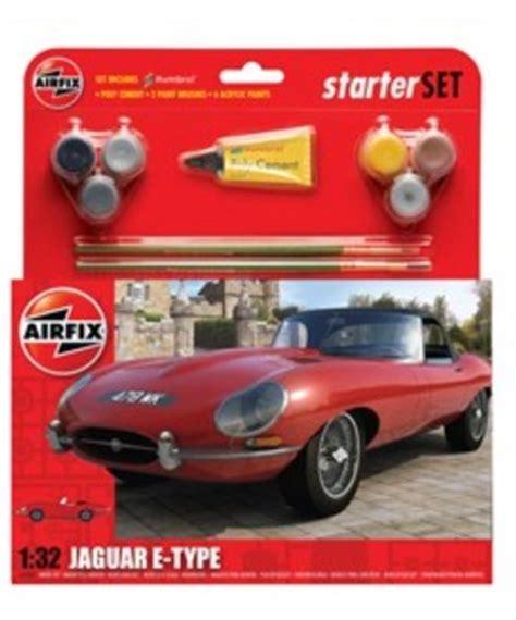 si鑒e auto safety airfix 1 32 jaguar e type car medium starter set w paint glue
