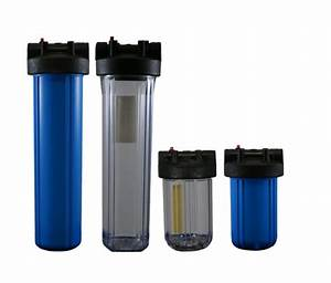 High Flow Cartridge Water Filters Designed For Low Pressure