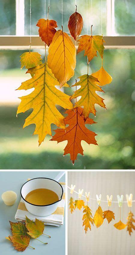 Herbstlaub Basteln Blaetter Deko Aus Papier by Herbstdeko Selber Machen 15 Diy Bastelideen Bl 228 Tter