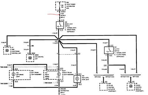 1994 Bmw 525i Wiring Diagram by I A 1992 Bmw 325i It Has New Brake Lights Brake