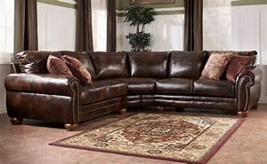 leather sectional sofa ashley ashley furniture leather With faux leather sectional sofa ashley