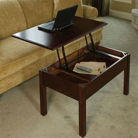 Pull Up Coffee Table Design  Roy Home Design