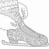 Coloring Skating Ice Kind Asteroid Mac Figure Adults Printable Zentangle Adult Drawing Cheese Colouring Shoes Skate Getcolorings Colts Whimsical Getdrawings sketch template