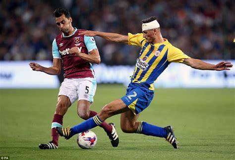 West Ham 1-0 Accrington Stanley: Dimitri Payet scores ...
