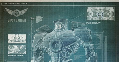 Build Blueprints by Blueprint How To Build A Kaiju Fighting Robot Wired
