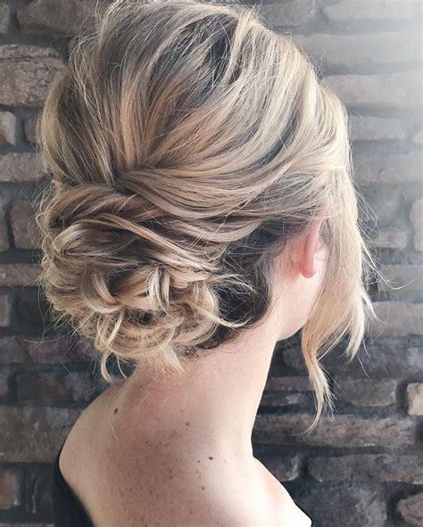 bridesmaid updo hairstyles ideas  pinterest