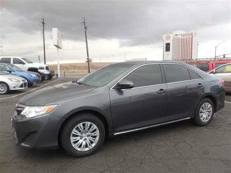 2012 Toyota Camry Le by 2012 Toyota Camry Le For Sale By Owner At