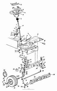 Mtd 13am675g062  1999  Parts Diagram For Axle  Front