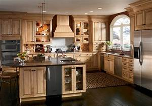 American, Traditional, Solid, Wood, Kitchen, Cabinets, Swk