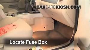 Interior Fuse Box Location  2005-2012 Ford Escape