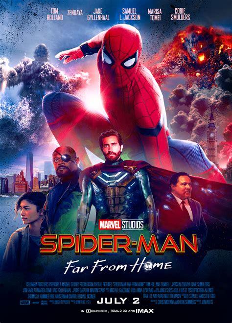 far spider lejos casa hd posters marvel 4k avengers endgame