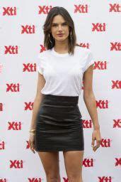 Alessandra Ambrosio Wearing a Miniskirt - Presents 'Xti ...