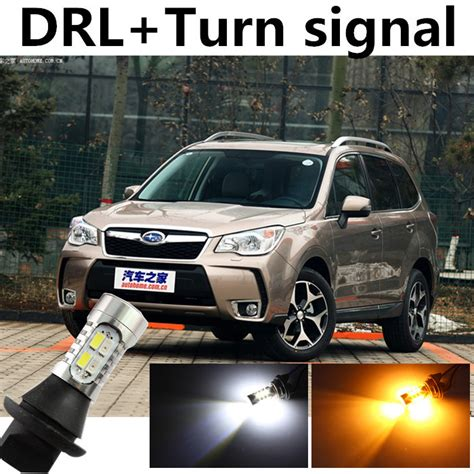 free shipping for s ubaru forester 2008 2014 drl daytime