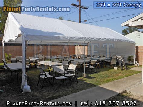 canopy tent rental tent rental canopy rentals 20feet by 30feet