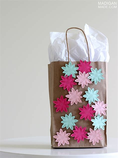 diy gift bag craft idea rosyscription
