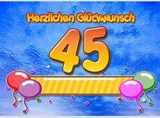 45 Geburtstag Glückwünsche und Sprüche