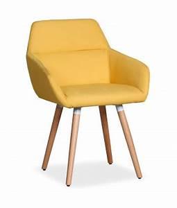 Fauteuil Scandinave Jaune : chaise scandinave pas cher style et design nordique ~ Melissatoandfro.com Idées de Décoration