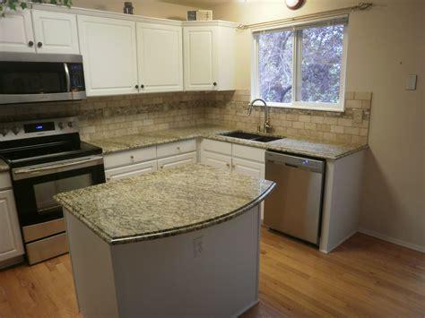 kitchen backsplashes with granite countertops countertops and backsplashes santa cecilia granite