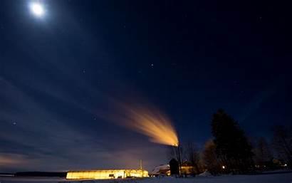 Night Winter Moonlight Pixelstalk Airwallpaper