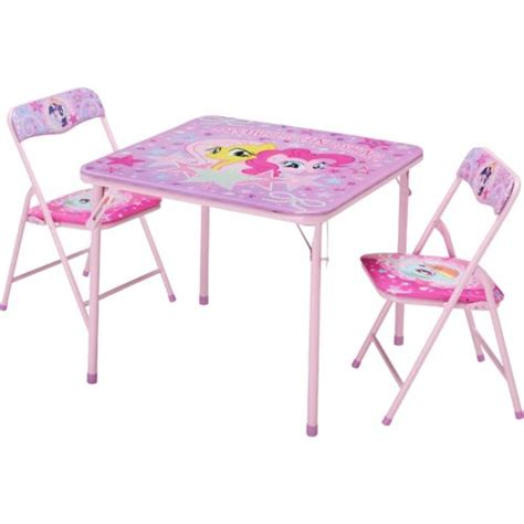 my little pony table hasbro kids 39 my little pony 3 piece table and chairs set