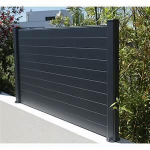 Cloture Alu Brico Depot : cl ture composer aluminium naterial gris leroy merlin ~ Dailycaller-alerts.com Idées de Décoration