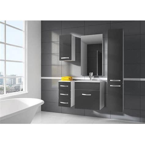 meuble de chambre de bain ensemble de salle de bain koral nature 55cm meuble salle