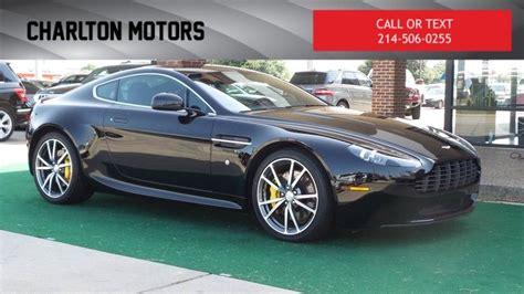 2012 Aston Martin V8 Vantage | Dallas/Ft. Worth TX 75077 | Aston martin v8, Car dealer, Aston martin
