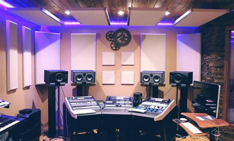 picture audio business room electronics equalizer equipments speakers studio