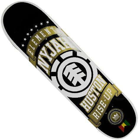Nyjah Huston Deck Size by Element Nyjah Huston Ribbon Deck In Stock At Spot Skate Shop
