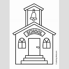 Kids At School Coloring Page Getcoloringpagescom