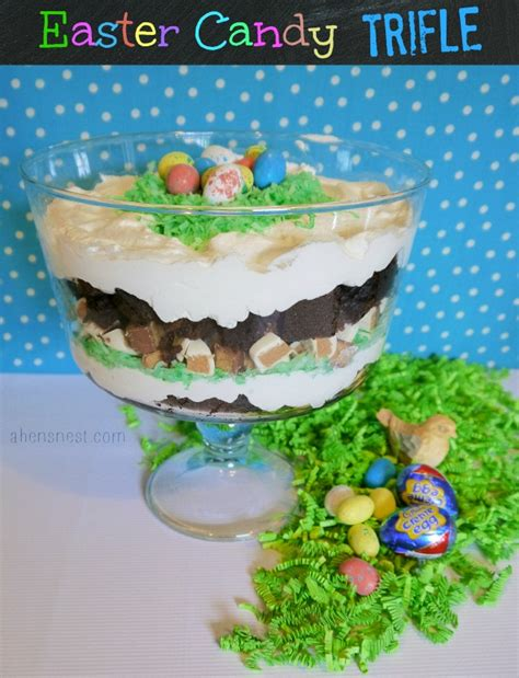 easter trifle recipes hershey s easter candy basket ideas a brownie trifle bunnytrail