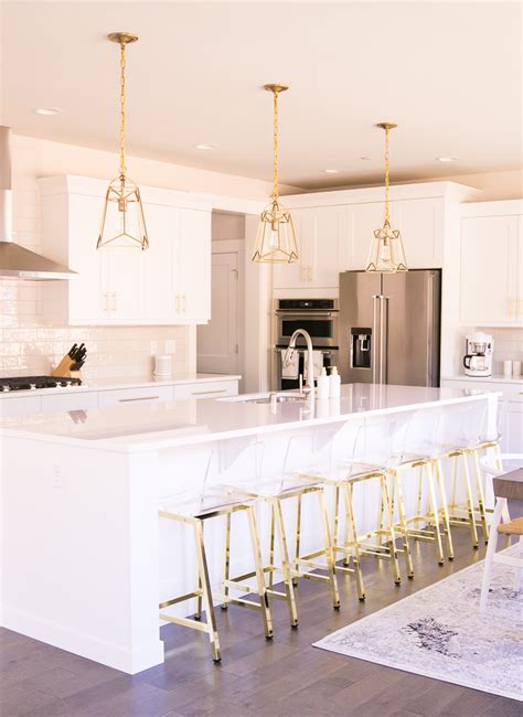 White Kitchen Gold Eye by House Update Our 4 Room Designs Created By Our