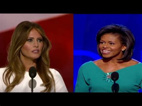 Melania Trump convention speech seems to plagiarise Michelle Obama | US news | The Guardian