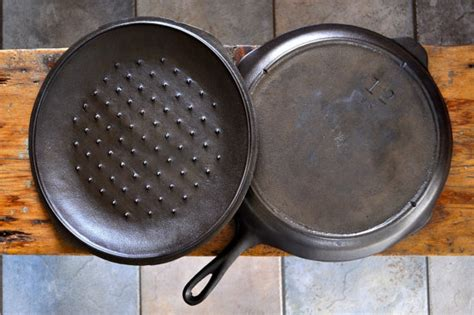 kitchen histories  indestructible cast iron pan etsy