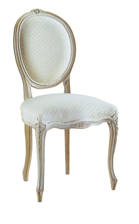 louis xv oval back dining chair provincial
