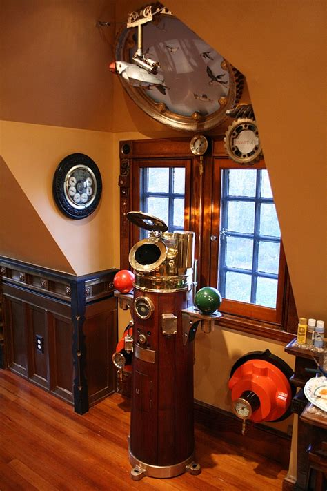 Yours In A White Wine Sauce! Steampunk House