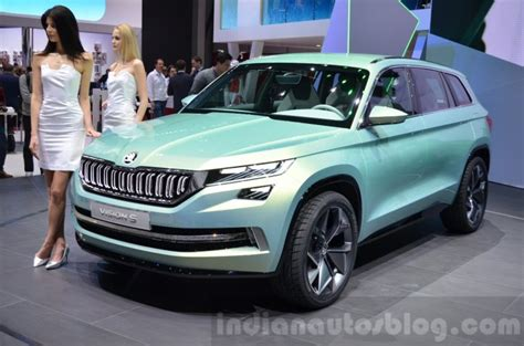 Skoda Visions Suv (kodiaq) To Arrive In India Next Year