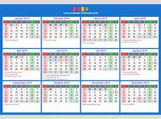 2019 kalender 6 2018 Calendar printable for Free