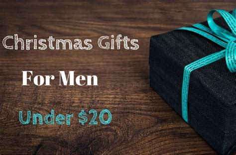 christmas gifts for men under 20