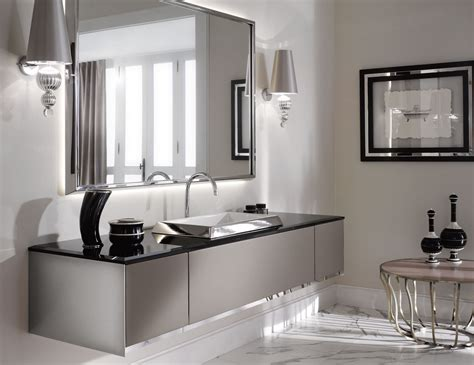 Bathroom Cabinets : The Luxury Look Of High-end Bathroom Vanities